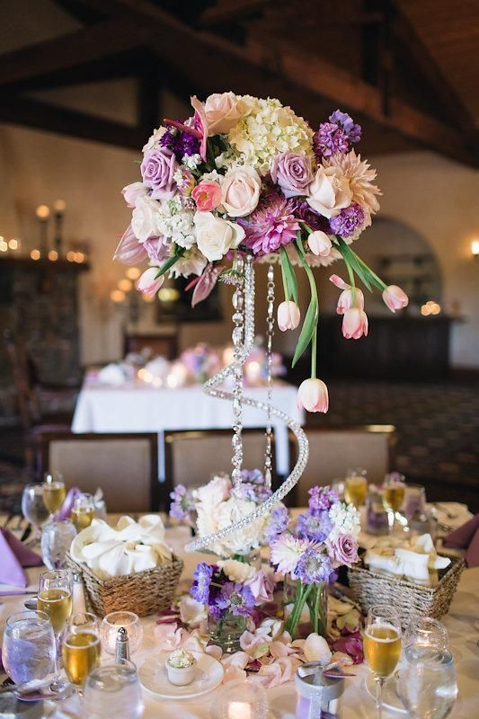 Visual Impact Design Sacramento Wedding Flowers Romantic Pink