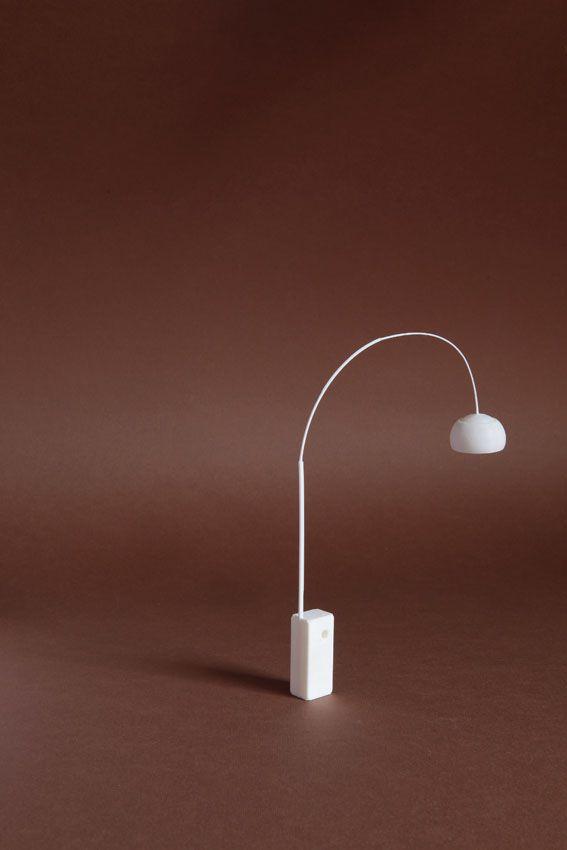 3D print Sergio Magnano Castiglioni design per Flos