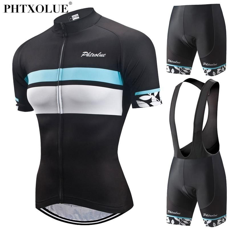 9f64819d7 Phtxolue Women Cycling Jerseys Set Short Sleeve Road Bike Mountain Bicycle  Mtb Cycling Clothing. Yesterday s