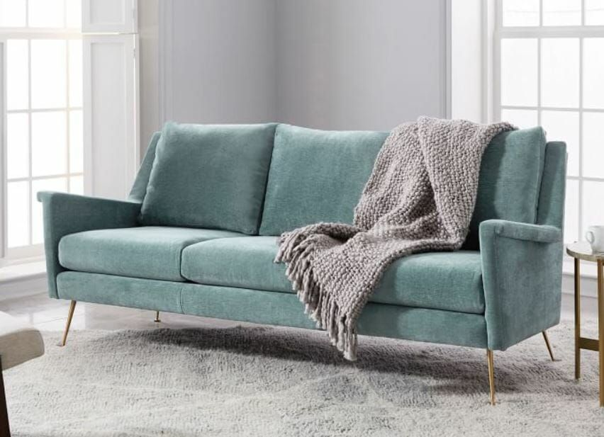 Miraculous Carlo Midcentury Modern Design Sofa And Chair From West Elm Ocoug Best Dining Table And Chair Ideas Images Ocougorg