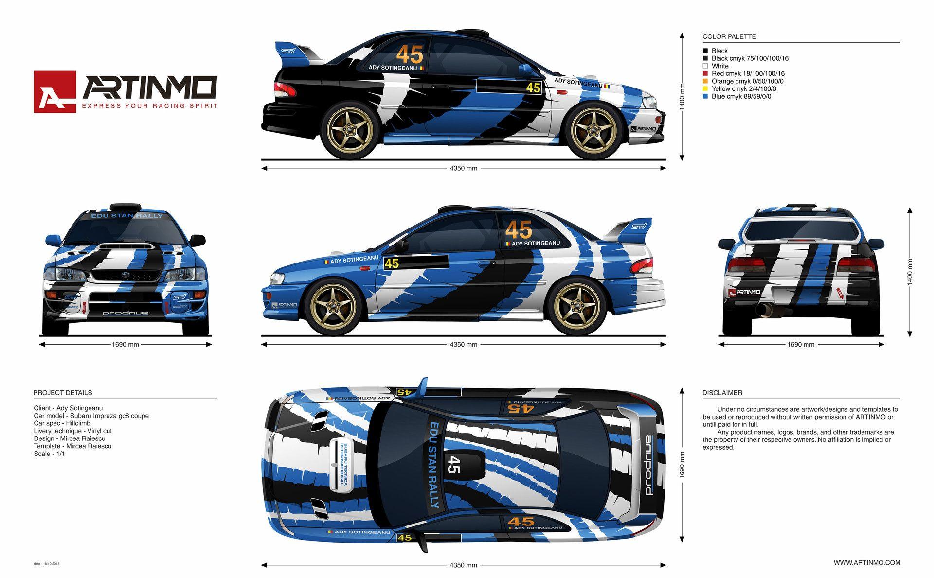 Subaru Impreza Gc8 Livery Design Subaru Impreza Subaru Impreza