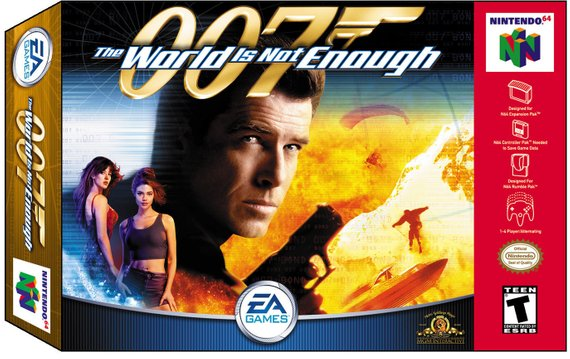 007 The World Is Not Enough Nintendo 64 Game N64 Game Tested