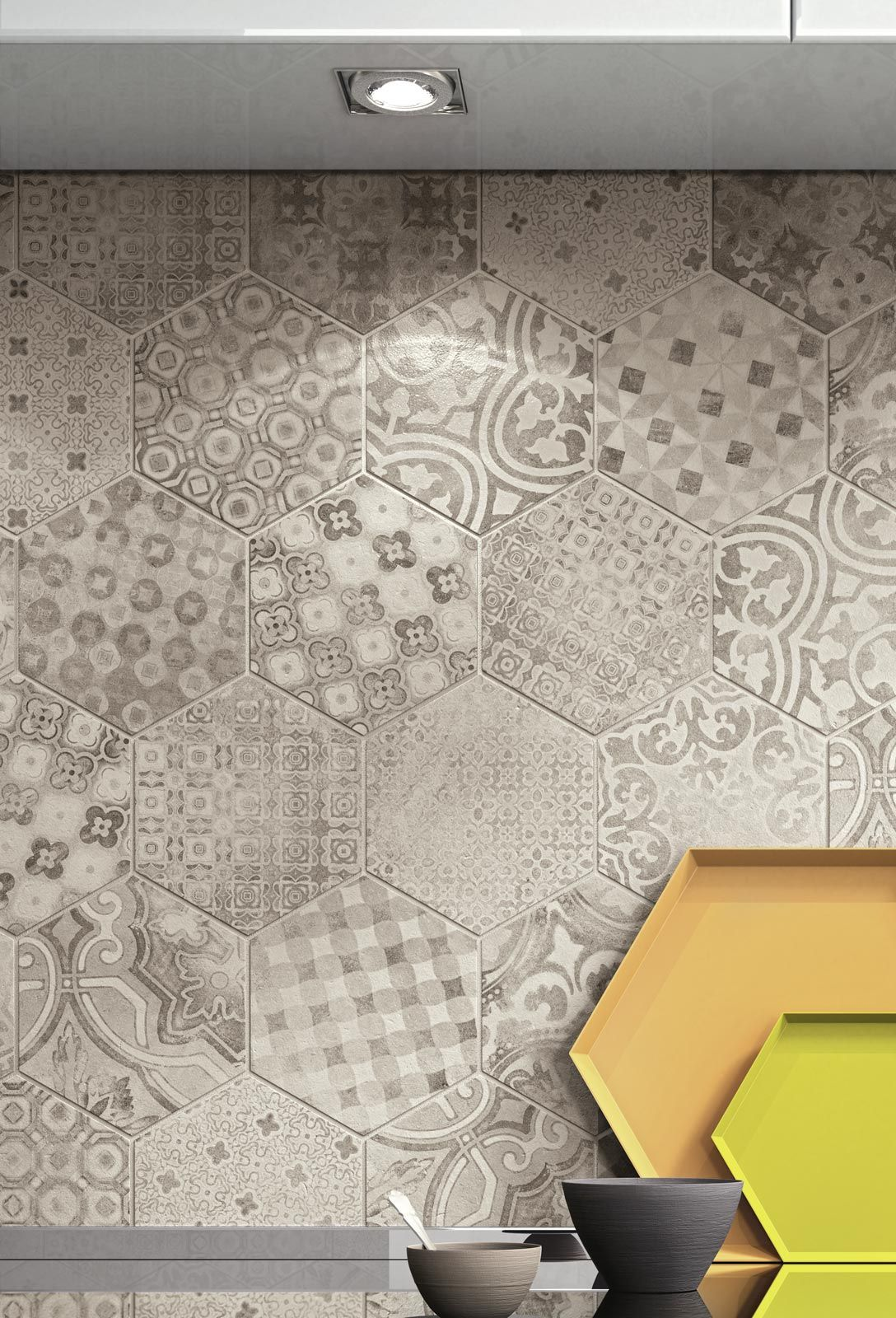 Rewind piastrelle effetto mosaico in gres porcellanato ragno irene pinterest tiles - Piastrelle a mosaico ...