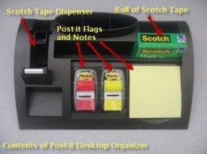 Keep Your Desktop Clean With A Post It Desktop Organizer Workspace Bliss Desktop Organization Work Space Organization Desk Organization Office