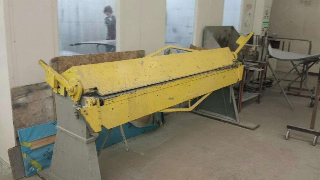 10 Ft Sheet Metal Break Used Metal Working Machines Sheet Metal Metal