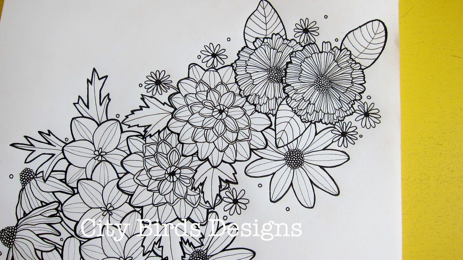 Flower tattoo sketch for half sleeve my style pinterest flower