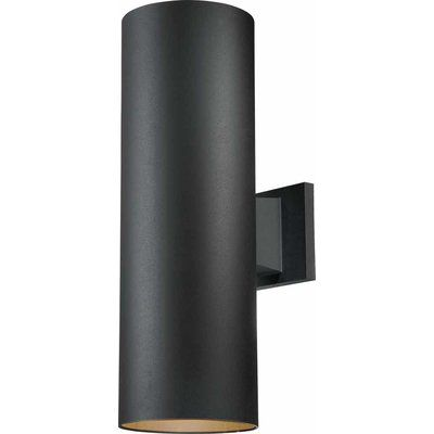 14 Inches WAC Lighting WS-W36614-BZ Caliber 2 LED Outdoor Wall Light in Bronze