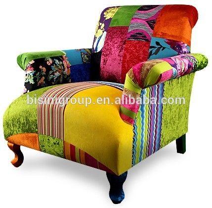 現代のカラフルなパッチワークでシングルソファーリビングルームのためのスペイン風bf11-02151f-画像-リビング用ソファ-製品ID:60188319205-japanese.alibaba.com