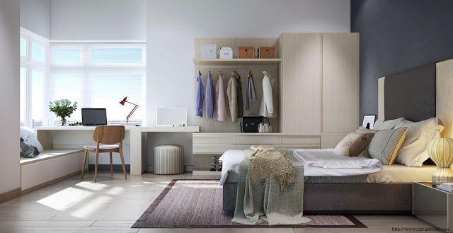 26 Desain Interior Kamar Tidur Sederhana | Dormitorios ...