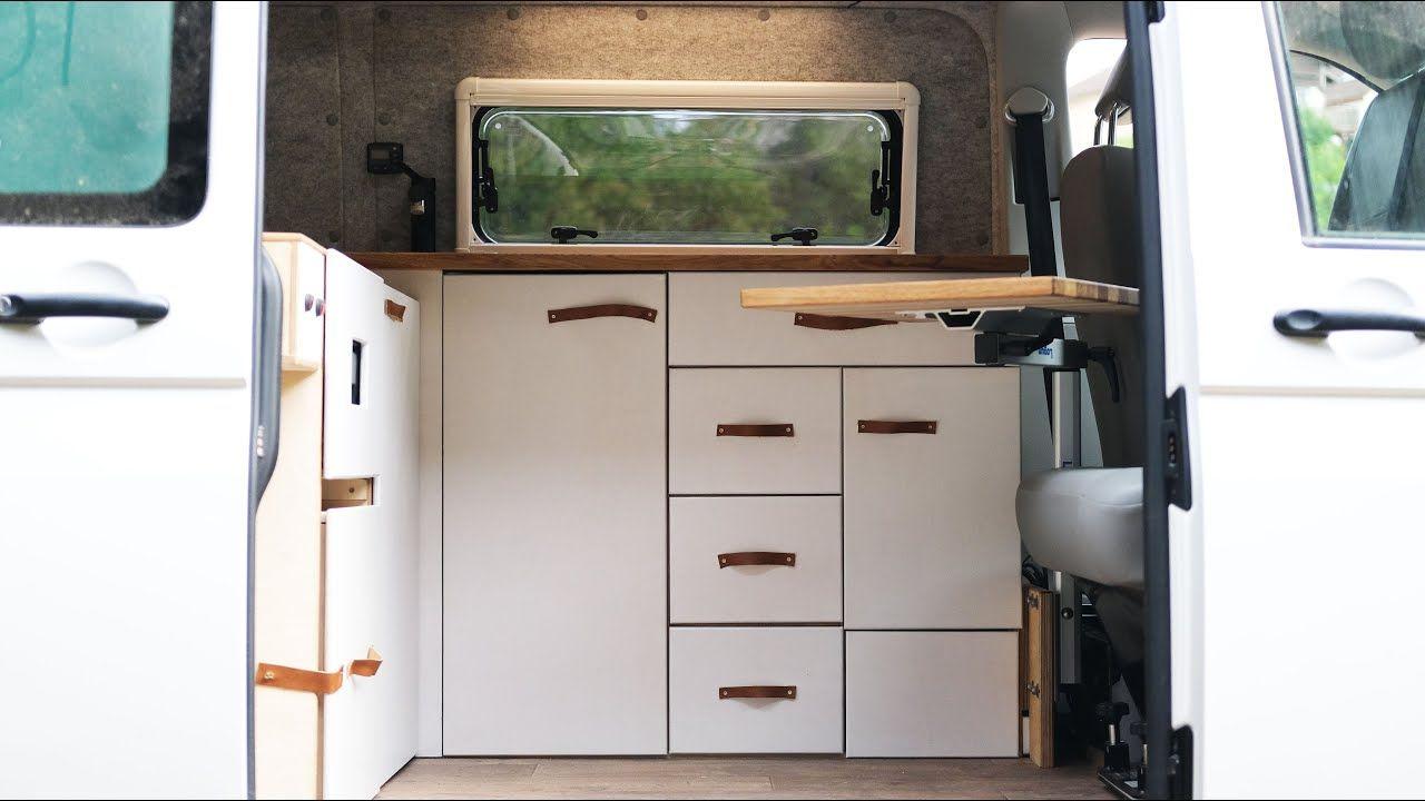 Der Vw T5 Diy Campervan Ist Fertig 14 Tage Vollgas Haben Sich Gelohnt Vw T5 Led Deckenspots Edelstahlspule