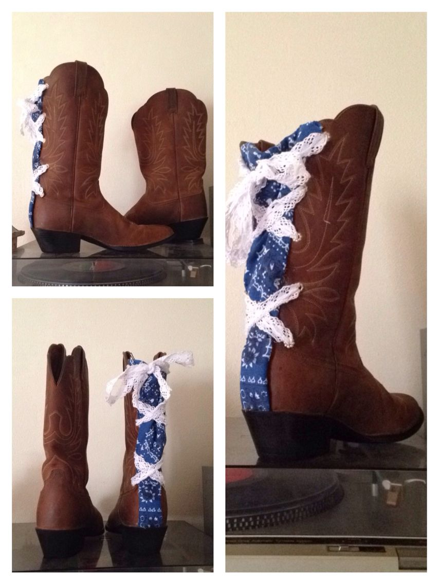 5d87f0554a5 Wide calf cowgirl boots. DIY Original ----> Wide calf   Things to ...