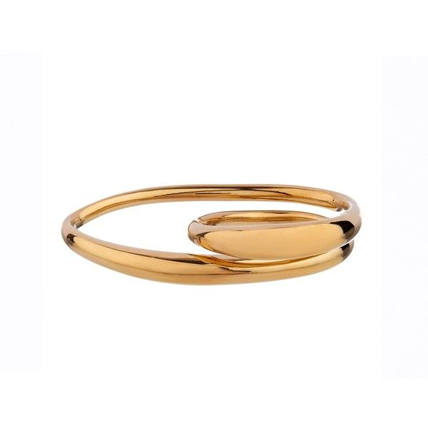 Charlotte Chesnais Heart gold plated ring $526 ❤ liked on