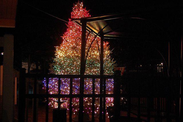 Rainbow Tree My Roy G Biv Ocd Rainbow Christmas Tree Hanging