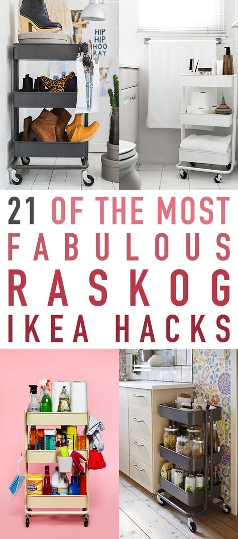 21 Of The Most Fabulous Raskog IKEA
