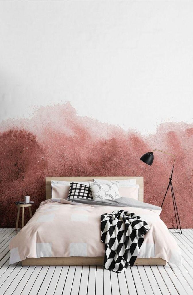 Modernes Haus Schlafzimmer Gestalten Für Wenig Geld Ber 1000 Ideen Zu  Wandgestaltung Schlafzimmer Auf Pinterest