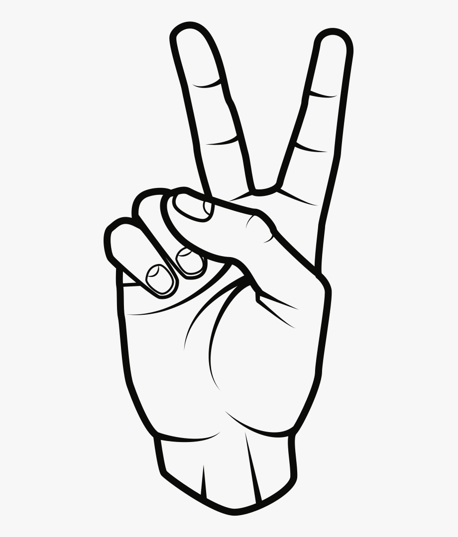 Peace Hand Sign Png Peace Sign Drawing Peace Sign Hand Peace Fingers