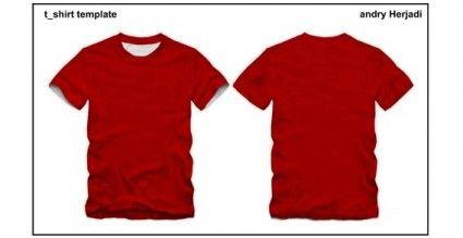 Vector T-shirt template | Places to Visit | Pinterest | Coreldraw ...