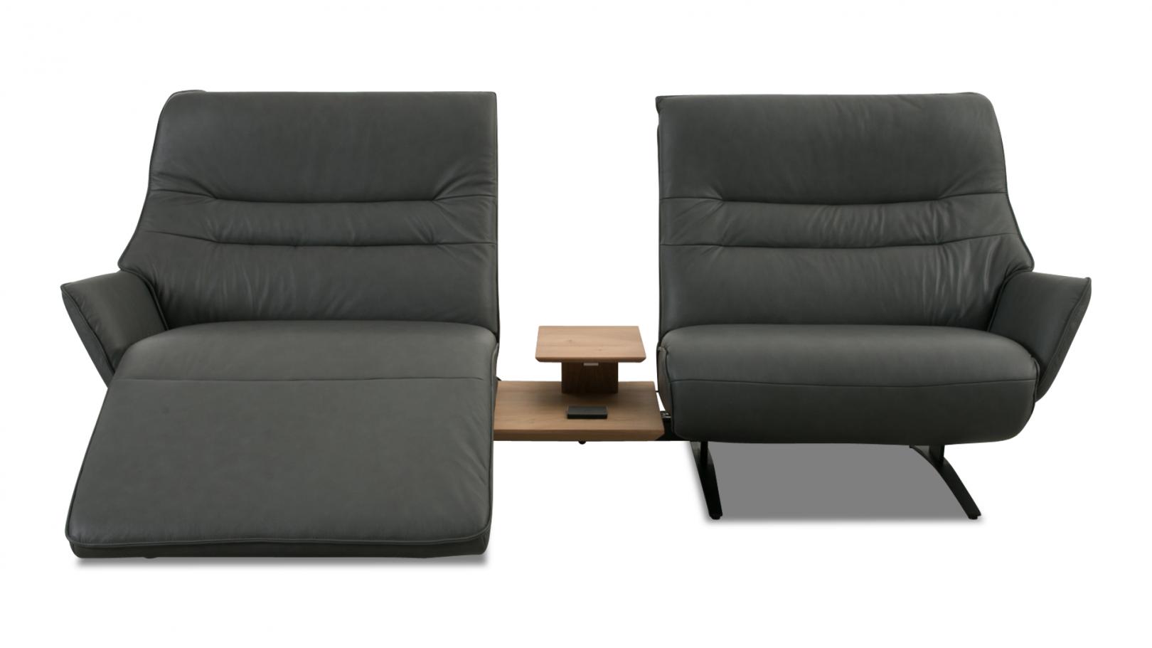 Himolla Sofa Lounger 4905 In Leder Longlife Sofa Konfigurierbar