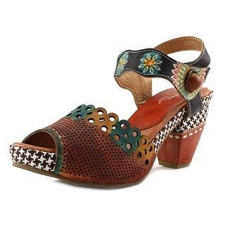 1a5d345e6 Hadari Women s Tribal Tassel Lace Up Flat Sandals