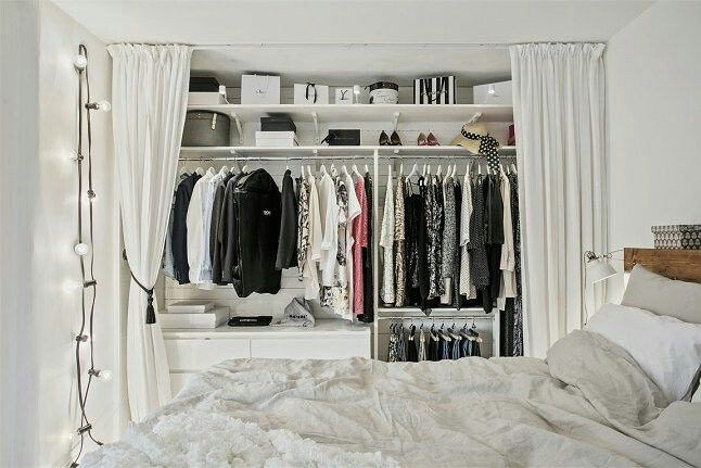 Pin By Victoria Smith On Very Clever Bedroom Organization