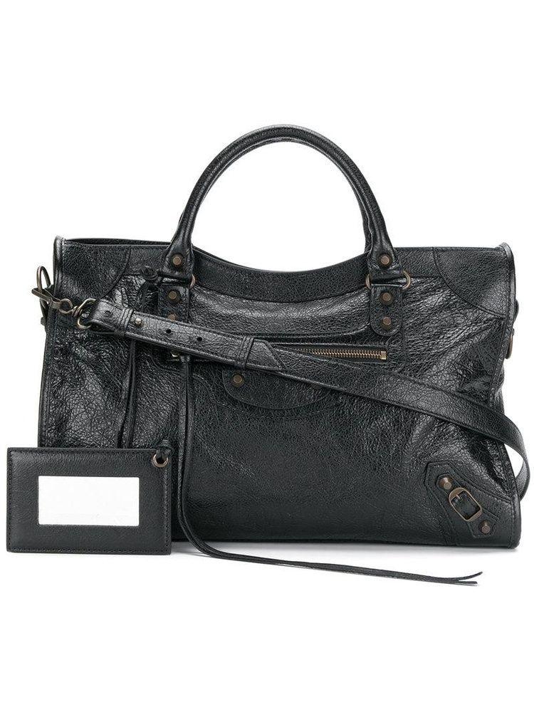 5715ce101 Balenciaga Balenciaga - Bolsa tiracolo 'Classic City AJ' de couro - mulher  - Leather