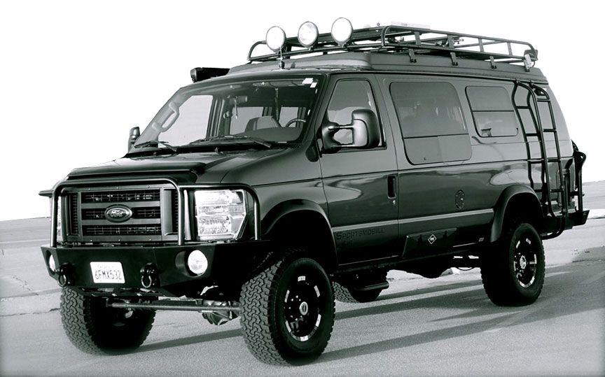 Sportsmobile Custom Camper Vans 4wd 4 Wheel Drive 4x4 With