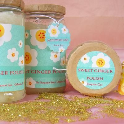 Sweet Ginger Skin Polish @Erindobbinsmom {cheaper version of our ginger bath scrub?}ED