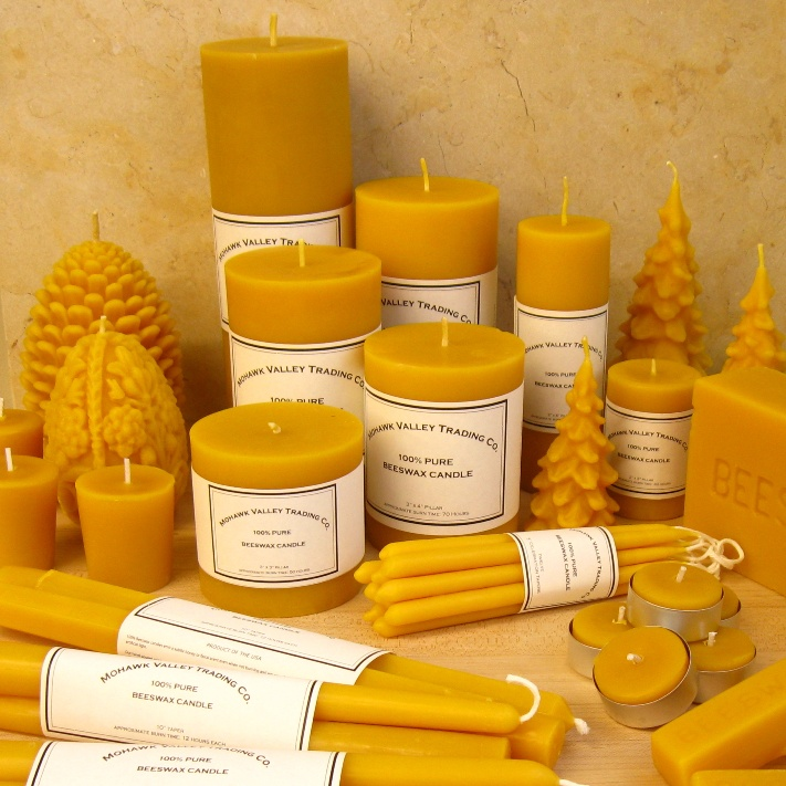 Beeswax Candles - 100% Pure Beeswax Candles