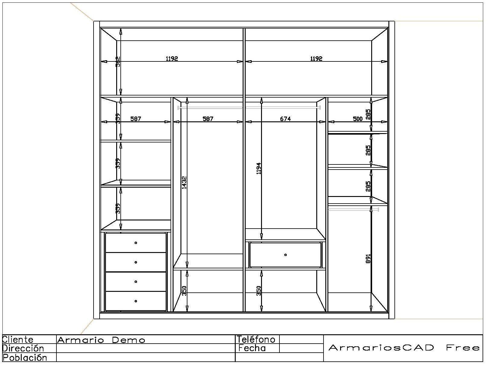 Resultado de imagen de organizaci n de armarios placard - Organizacion armarios ...