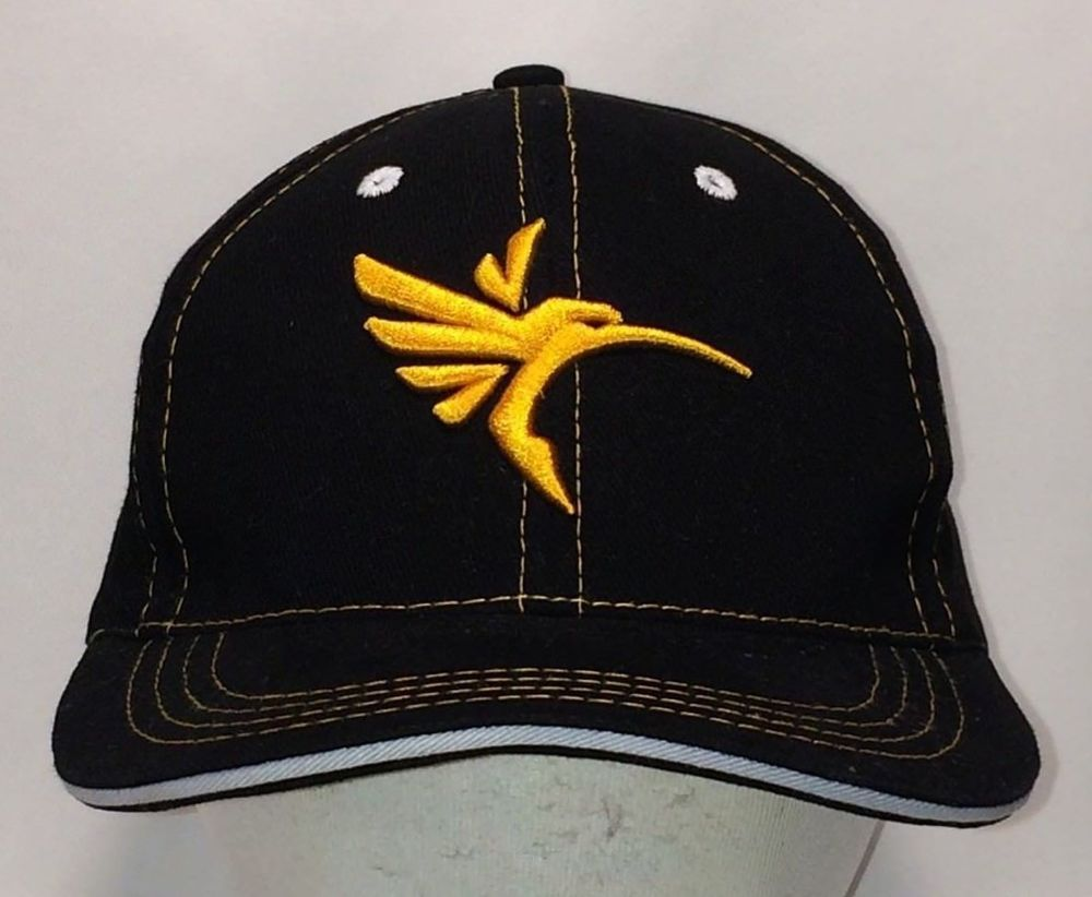Hummingbird Fishing Hat Black Gold Baseball Cap Cool Fish Hats For Men. Find  Baseball Caps like this and 100 s more in our eBay Store Today   Save! ac51b701e453