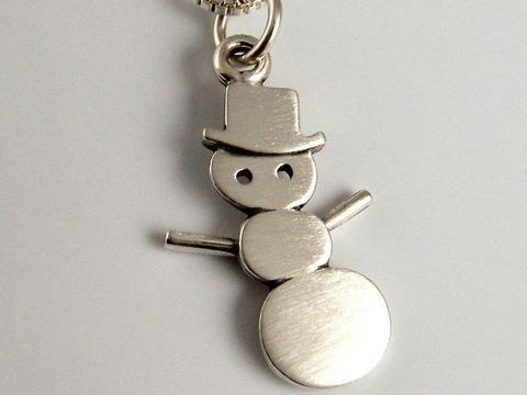 28a3d24c2135 Collar Mini Amigo Snowman