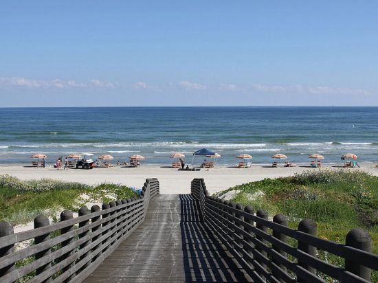 A Beautiful Boardwalk View Of Cinnamon S Mustang Island Where Our 2017 Coastal Living