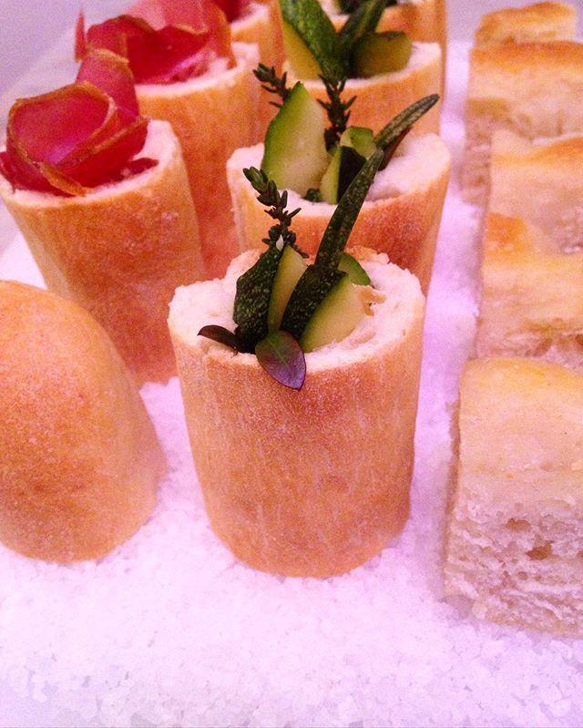 #verger #cateringmilano #food #foodporn #recipe #bread #sushi