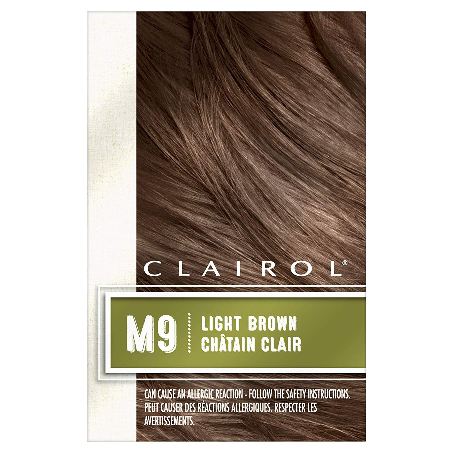Clairol Natural Instincts Hair Color For Men M9 Light Brown 1 Kit Pack Of 3 Packaging M Clairol Natural Instincts Beauty Hair Color Semi Permanent Hair Dye