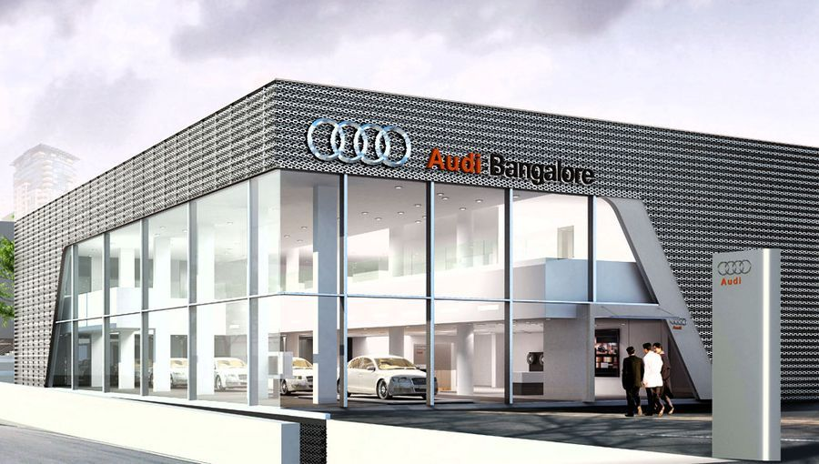 Audi showroom in India welcomes latest LED technology – lightlive blog #ledtechnology