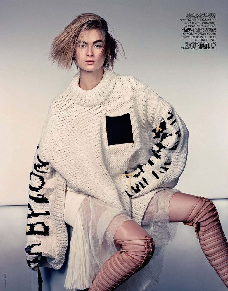 Marie Claire Italia May 2014 | Bo Don photographed by David Slijper