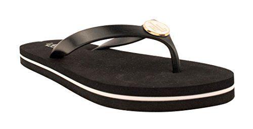 8fd212906ffe99 Lauren Ralph Lauren Women s Thong Elissa Flip-Flop Sandal ...