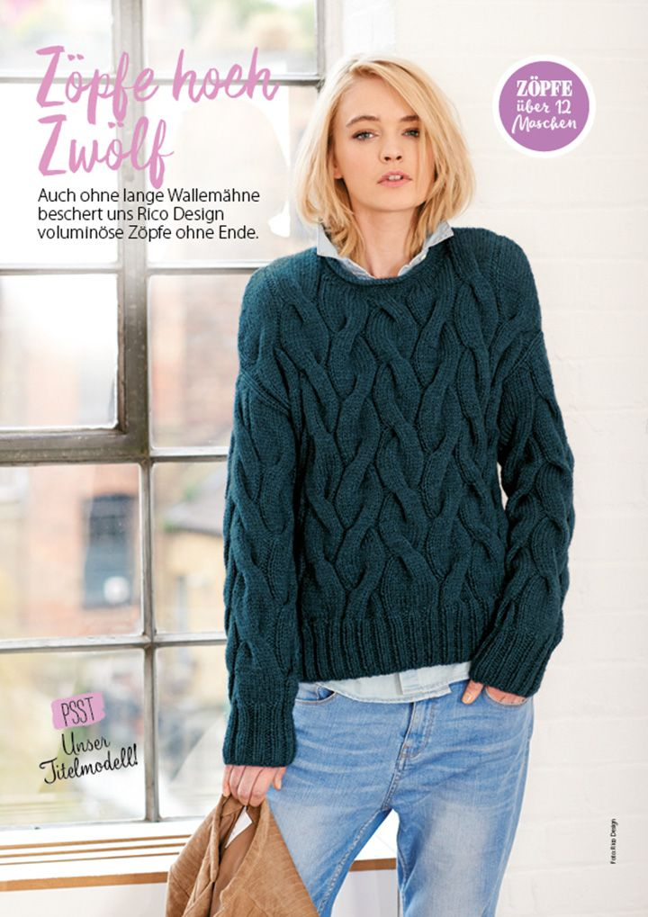 Simply Stricken Heft 012017 Knitting Sweaterpullover Pinterest