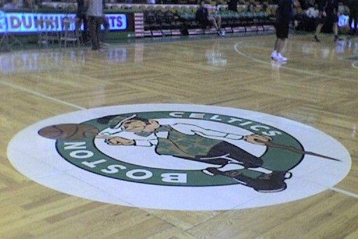 Parquet Floor Celtic Pride Boston Celtics Celtic