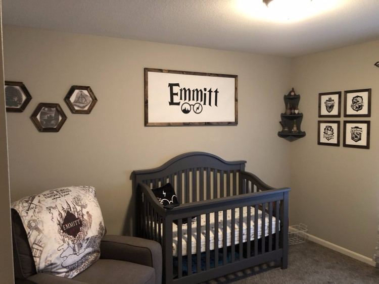 25+ Harry Potter Themed Baby Room/ Nursery Ideas For Small ...