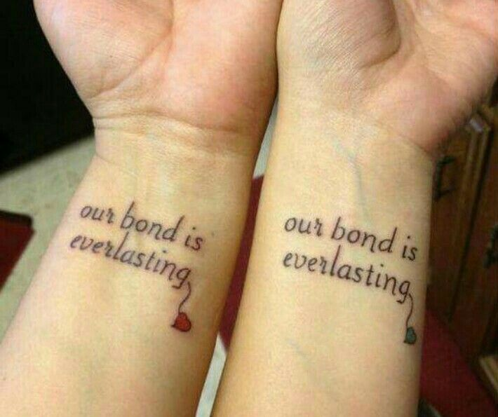 Pin by Alyssa Barnes on matching tattoo | Pinterest | Tattoo, Bff ...