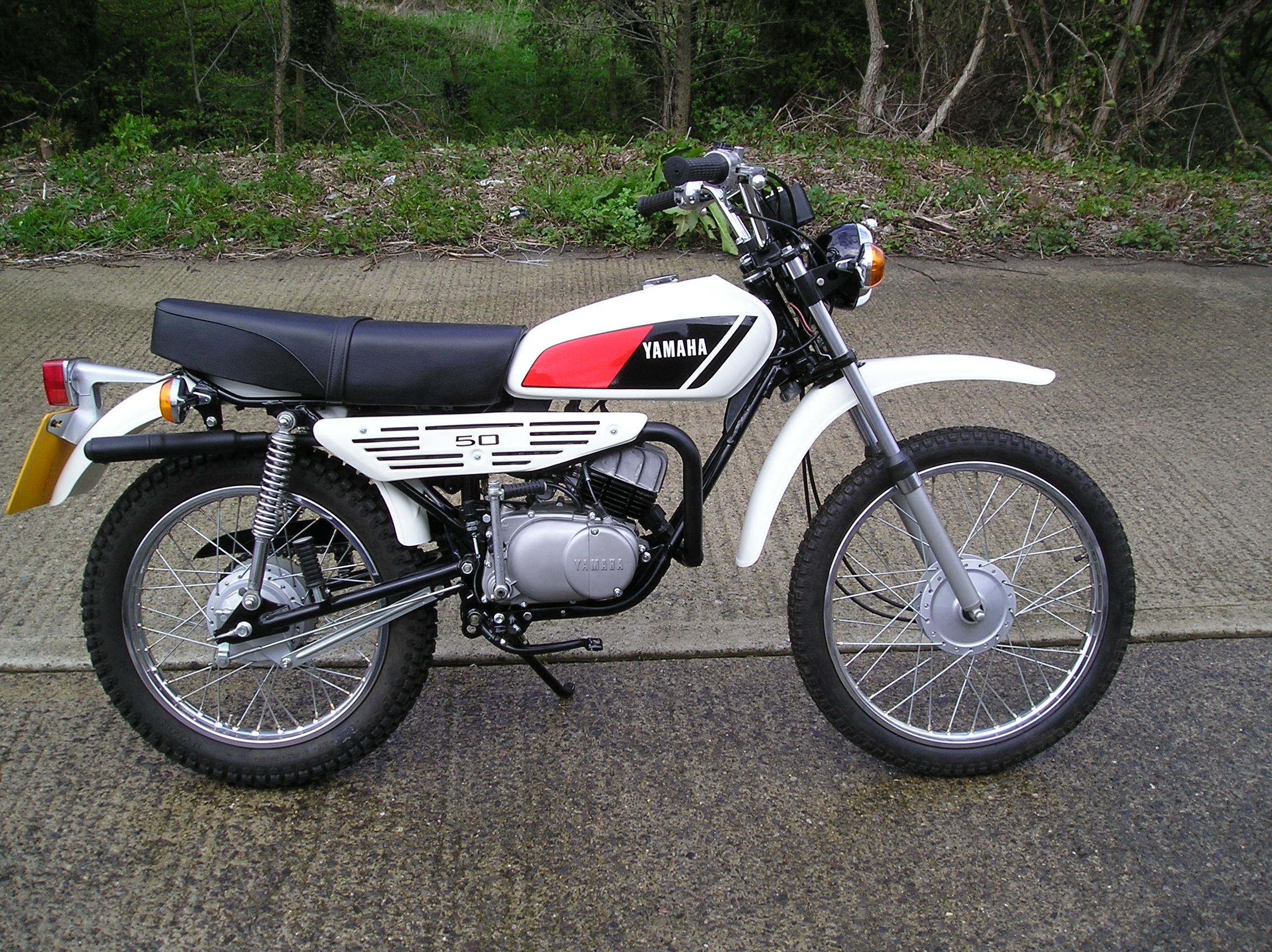 Classic Yamaha Dt50 Bing Images