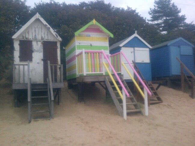 Beach huts norfolk