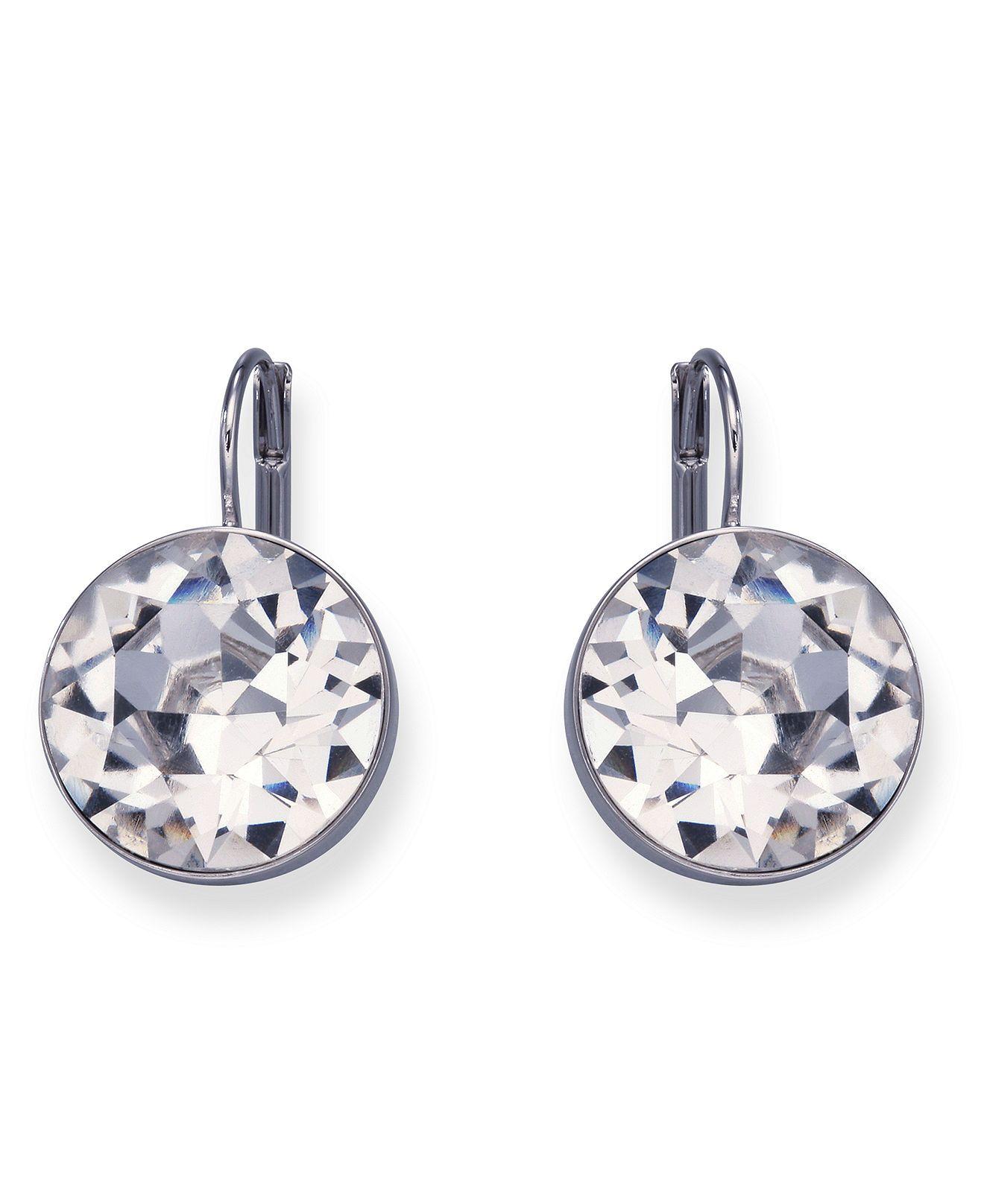 Swarovski Bella Crystal Drop Earrings & Reviews Earrings