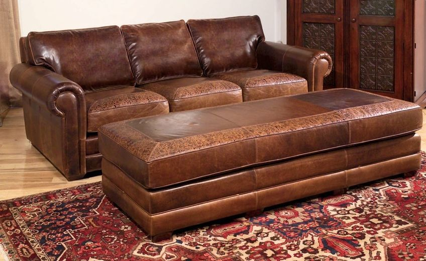 Sectional Sofa Leather Collection Sofas Sectionals Chairs u Ottomans from Hill Country Interiors in San