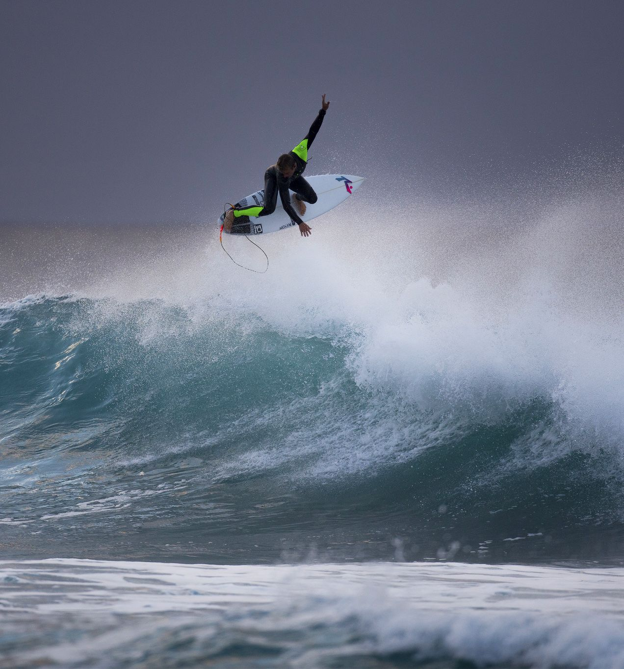Josh Kerr Had A Fun Surf Session This Morning Ripcurlpro Bellsbeach World Surf League Surf Competition Surfing