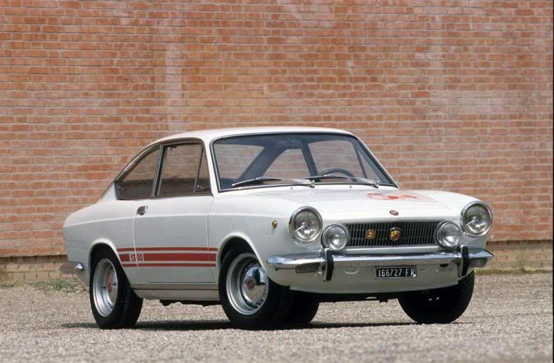 Wonderful Fiat 850 Coupe Moretti Sportiva S2 For Sale 1968