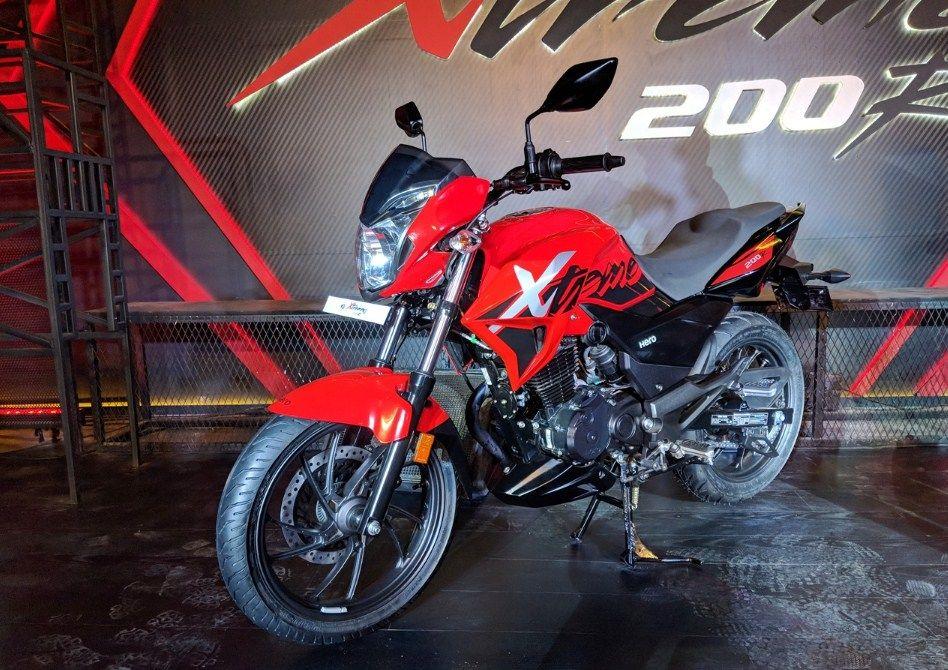 2018 Hero Xtreme 200r Deliveries Started Hero Motocorp Hero