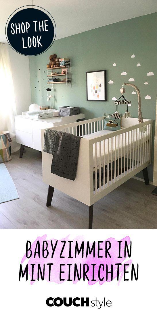 Babyzimmer in Mint: Userin Iphigenie zeigt wie es geht