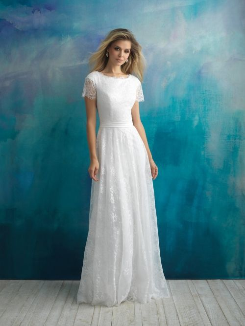 Contemporary and Modest Bridal Gowns for Utah Brides | Temple ...